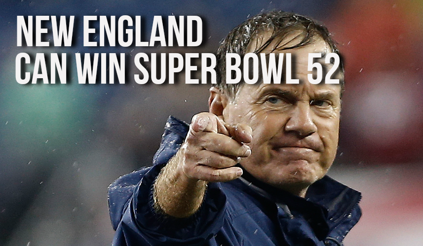 Who Will Win Super Bowl 52? - Bill Belichick reckons New England