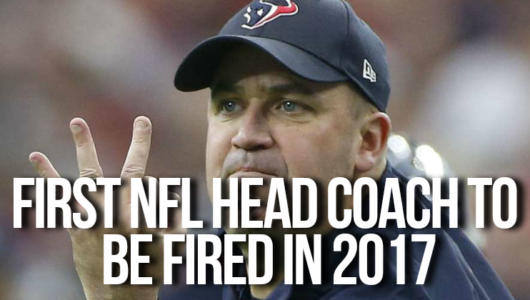 First NFL Head Coach To Be Fired in 2017