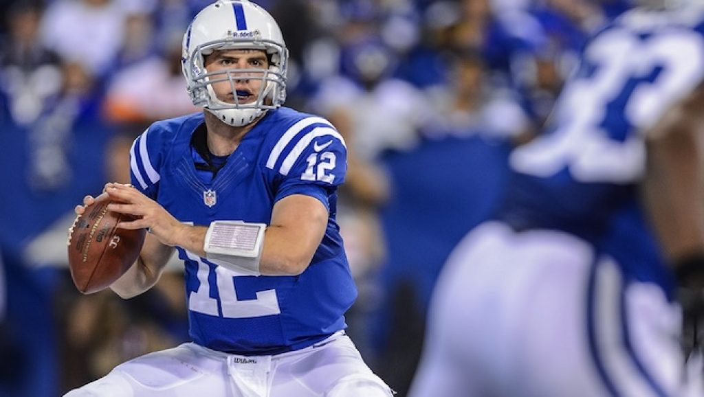 Andrew Luck is Number 1 in the 20 Highest Paid Quaterbacks in NFL