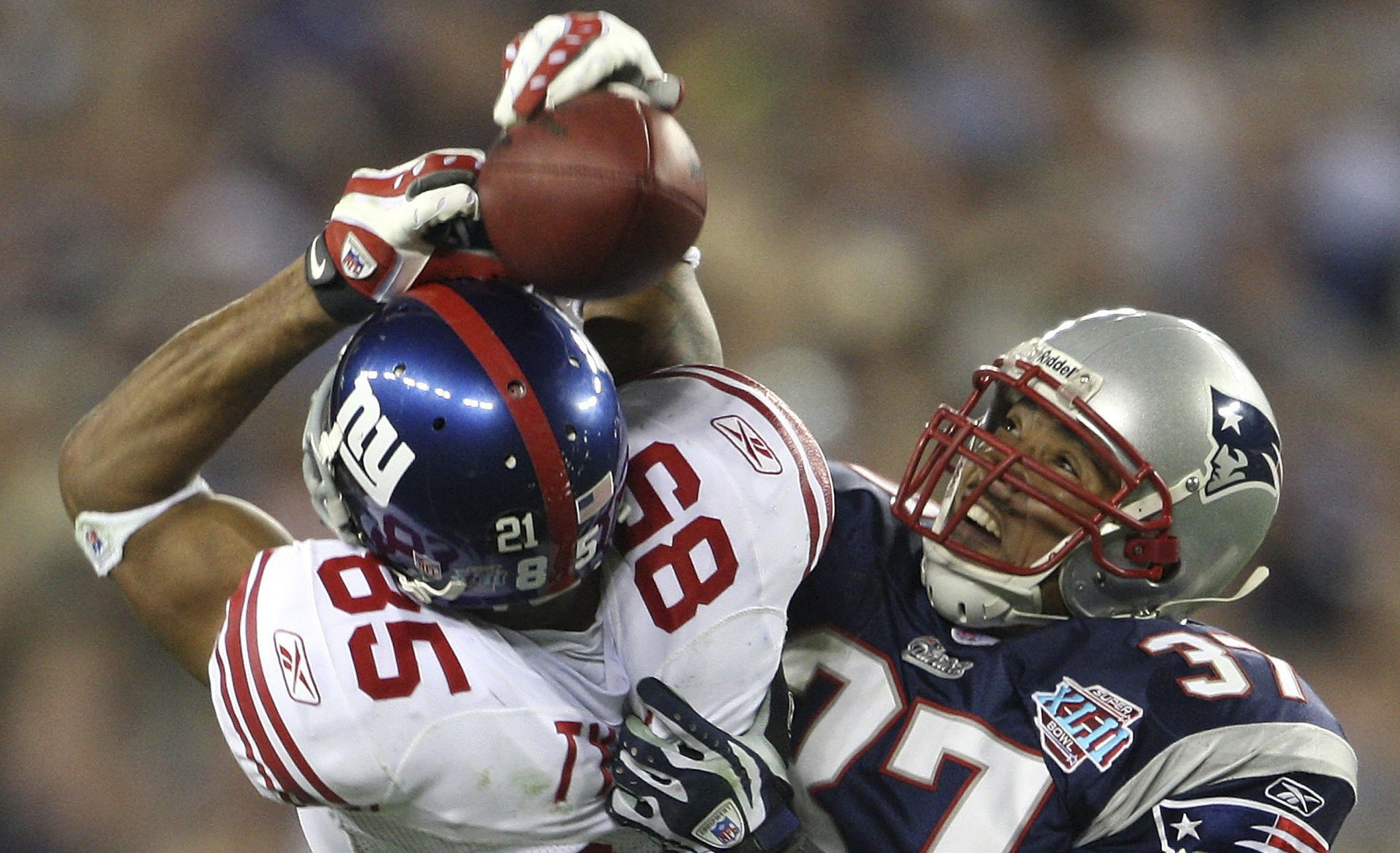 David Tyree's Helmet catch helped to pull off one of the biggest upsets in NFL history