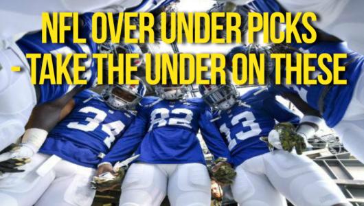 NFL Over Under picks 2017 -18