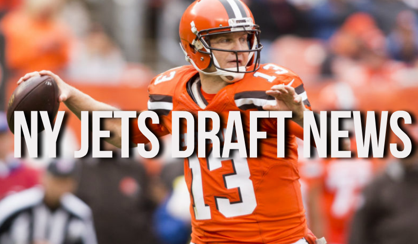 Josh McCown New York Jets Draft News