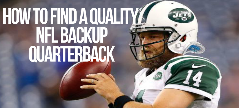 NFL Backup Quarterback