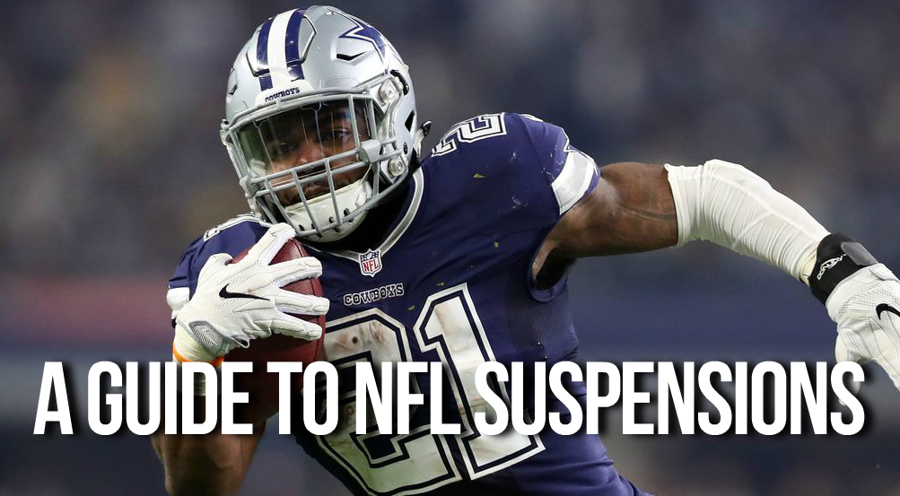 A Guide To NFL Suspensions