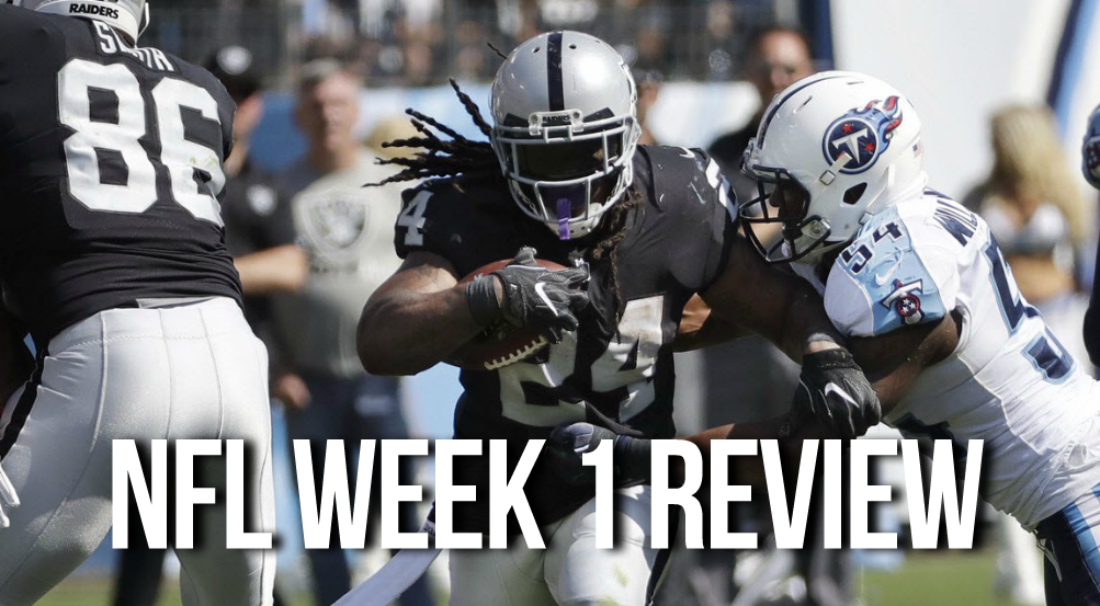 NFL Week 1 Review