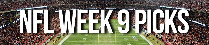 NFL Week 9 Picks by Drew Farmer