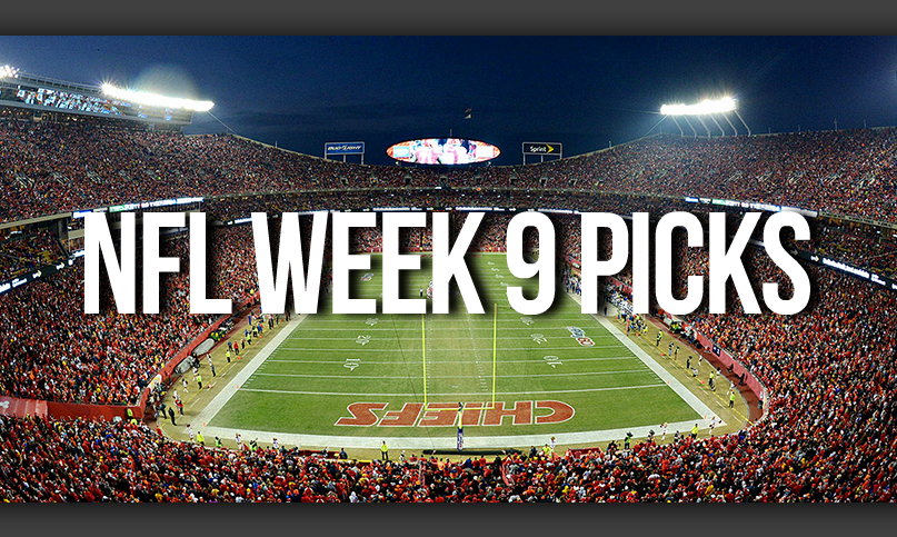 NFL Week 9 Picks by Drew Farmer