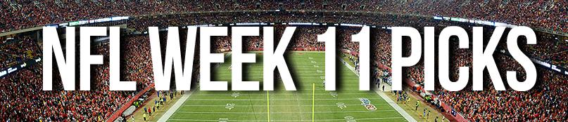 NFL Week 11 Picks and Previews by Drew Farmer