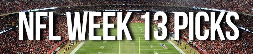 NFL Week 13 Picks by Drew Farmer