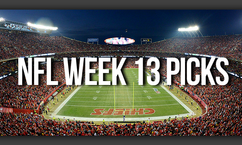 NFL Week 13 Picks by Drew Farmer