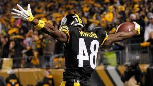 NFL MVP Antonio Brown