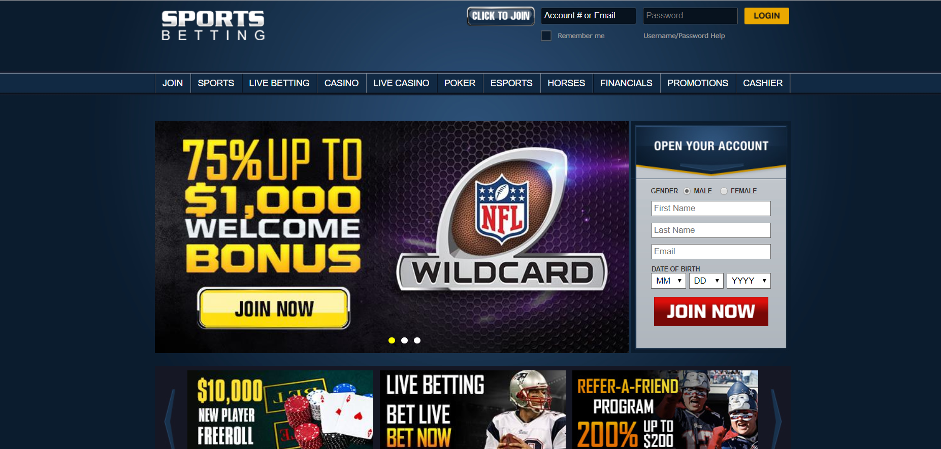 Sportsbetting ag Review of Sportsbook