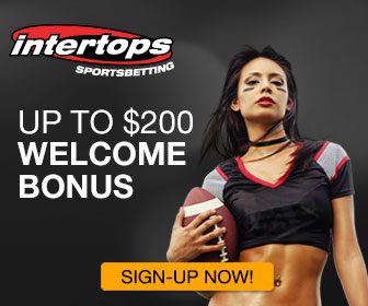 Intertops Welcome NFL Bonus