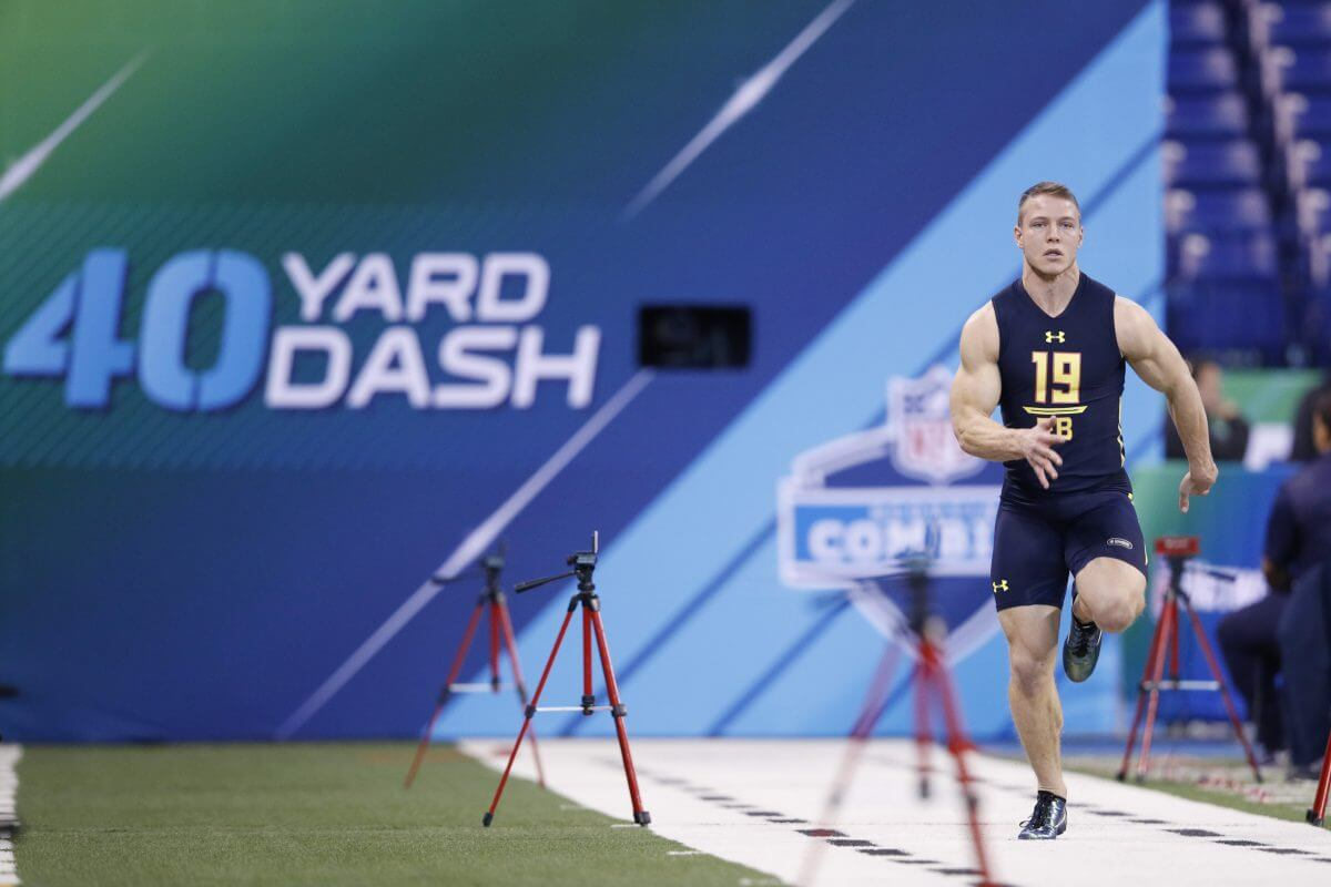 Over/Unders for Fastest 40-Yard Dash & Other Drills