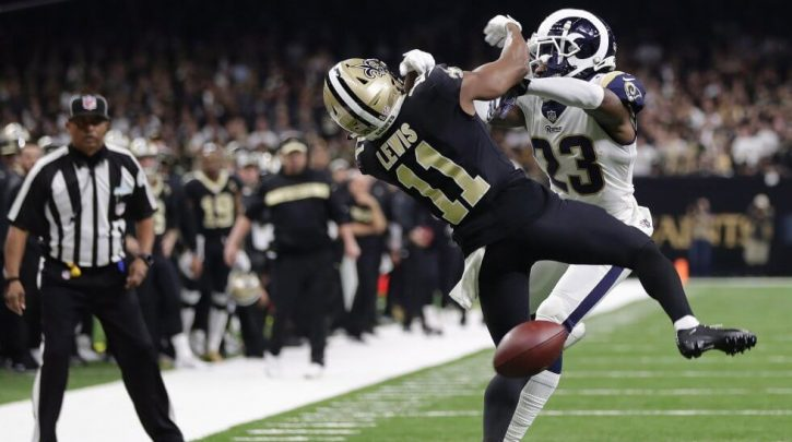 You Can Bet on How Many Pass Interference Calls Will be Overturned in Week 1