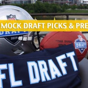 NFL Mock Draft Predictions - Predict the Pick 2019