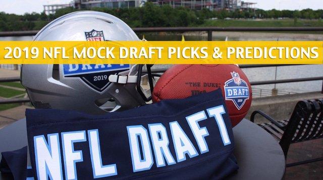 NFL Mock Draft Predictions - Predict the Pick 2019