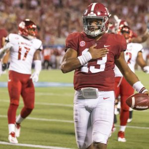 MyBookie Lists Tua Tagovailoa as Odds-On Favorite to Go #1 in 2020 NFL Draft