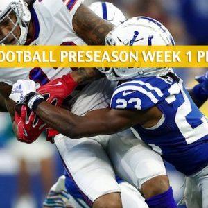 Colts vs Bills Predictions, Picks, Odds, Preview