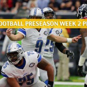 Lions vs Texans Predictions, Picks, Odds, Preview