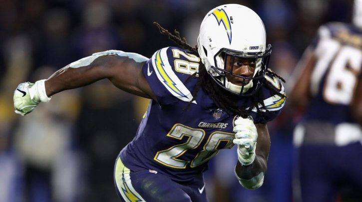 Odds of Chargers' Melvin Gordon Playing Week 1 Set at 3-2; Antonio Brown Heavily Favored to Play