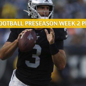 Raiders vs Cardinals Predictions, Picks, Odds, Preview