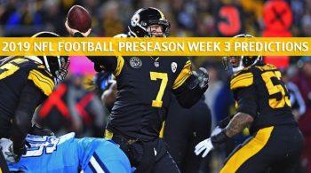 Steelers vs Titans Predictions, Picks, Odds, Preview