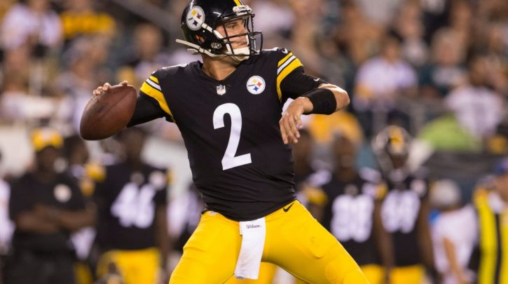 49ers Open as 7-Point Favorites Over Steelers with Rudolph Starting for Roethlisberger