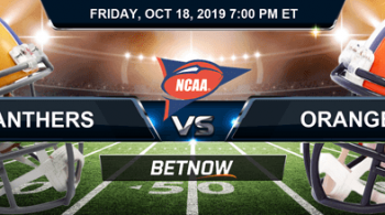 Pittsburgh Panthers vs Syracuse Orange 10-18-2019 NCAAF Odds, Picks and Preview