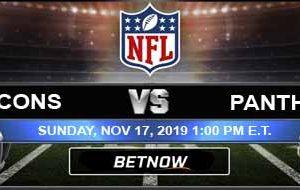 Atlanta Falcons vs Carolina Panthers 11-17-2019 Previews Game Analysis and Predictions