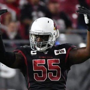 Chandler Jones Favored to Lead NFL in Sacks Entering Week 11, Preston Smith & Shaq Barrett Close Behind