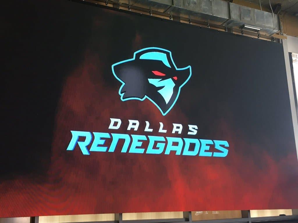 Dallas Renegades Favored at +300