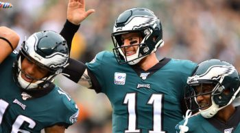 Eagles Open as 4.5-Point Favorites Over Redskins After MNF Win Over Giants