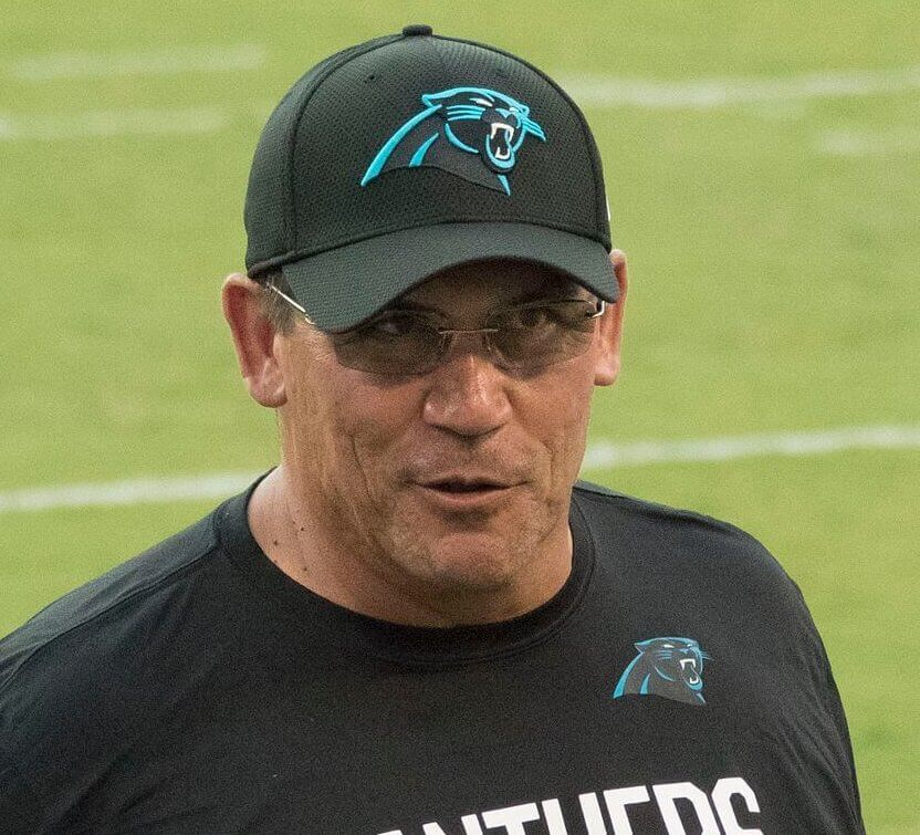 Panthers Listed as 3-Point Dogs vs Falcons After Ron Rivera Firing