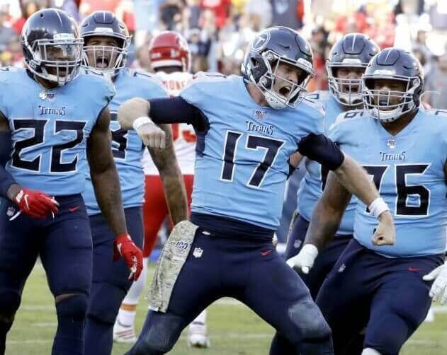 Can the Titans Beat the Chiefs with Tannehill Throwing for Less Than 100 Yards Again? Odds Set at 15-1