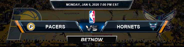 Indiana Pacers vs Charlotte Hornets 1-6-2020 Spread Picks and Prediction