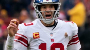 Odds Are Against Eli Manning Crying at Retirement Press Conference