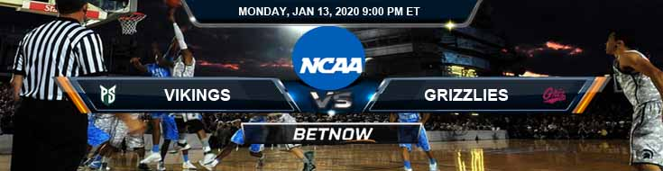 Portland State Vikings vs Montana Grizzlies 01-13-2020 Picks Previews and Predictions
