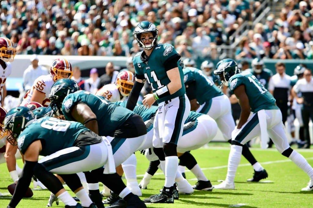 Seahawks vs Eagles Props: It's All on Wentz's Shoulders