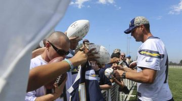 Odds Favor Tyrod Taylor Starting for Chargers in 2020, Bucs Favored to Land Rivers