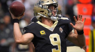Opening Odds to Lead NFL in Passing in 2020