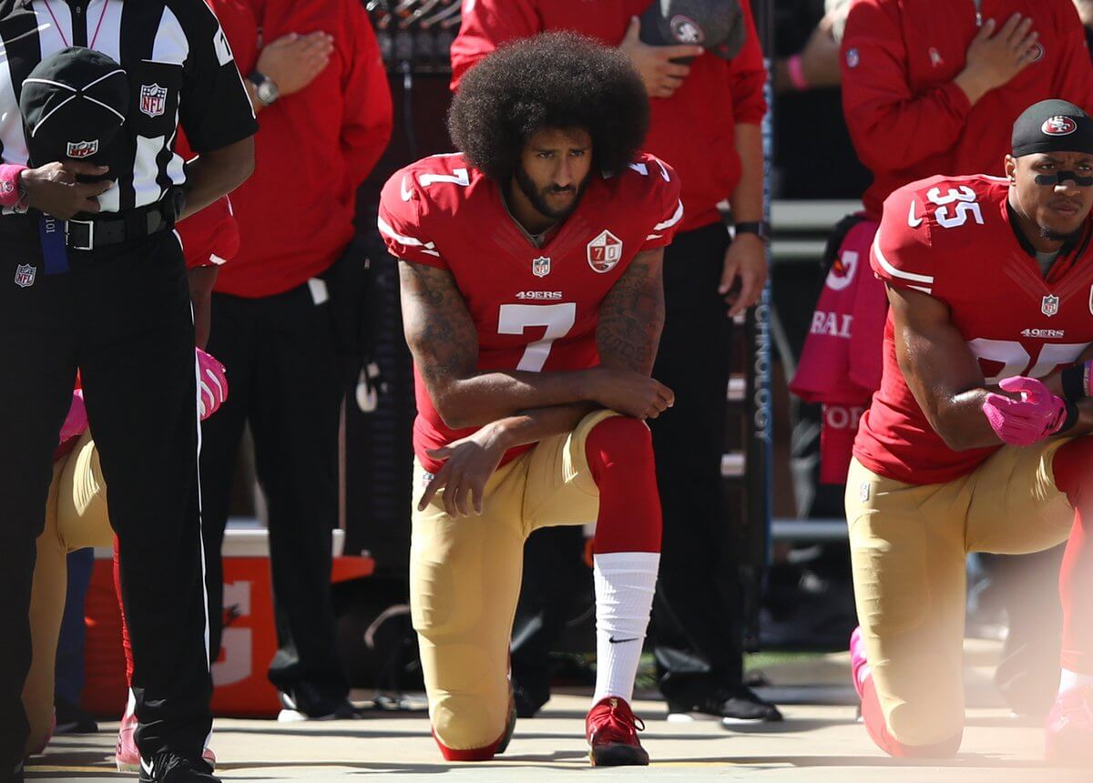 After Goodell Encourages a Team to Sign Kaepernick, QB's Odds of Being on a Team Week 1 Improving