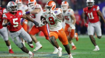 Etienne No Longer the Odds-On Favorite to Be First RB Taken in 2021 NFL Draft