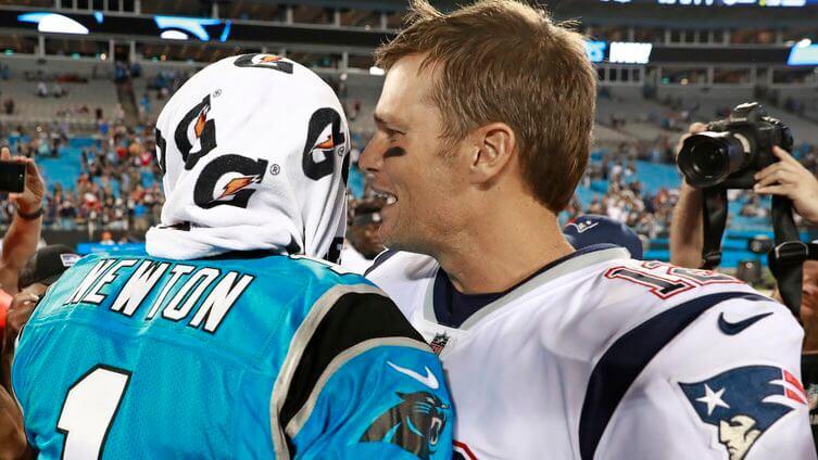 Cam Newton vs Tom Brady Props for 2020 NFL Season