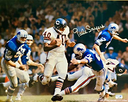 Gale Sayers (1965- 1971) best NFL running back