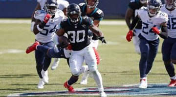 Jaguars' James Robinson Sees NFL OROY Odds Listed as Short as +700 After Week 3