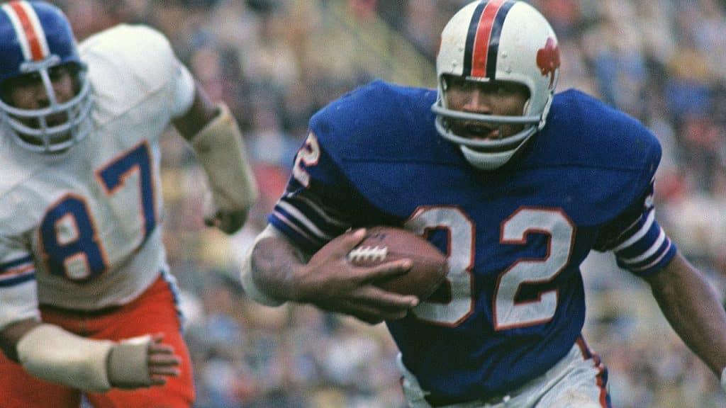 O.J. Simpson (1969- 1979) best NFL running back