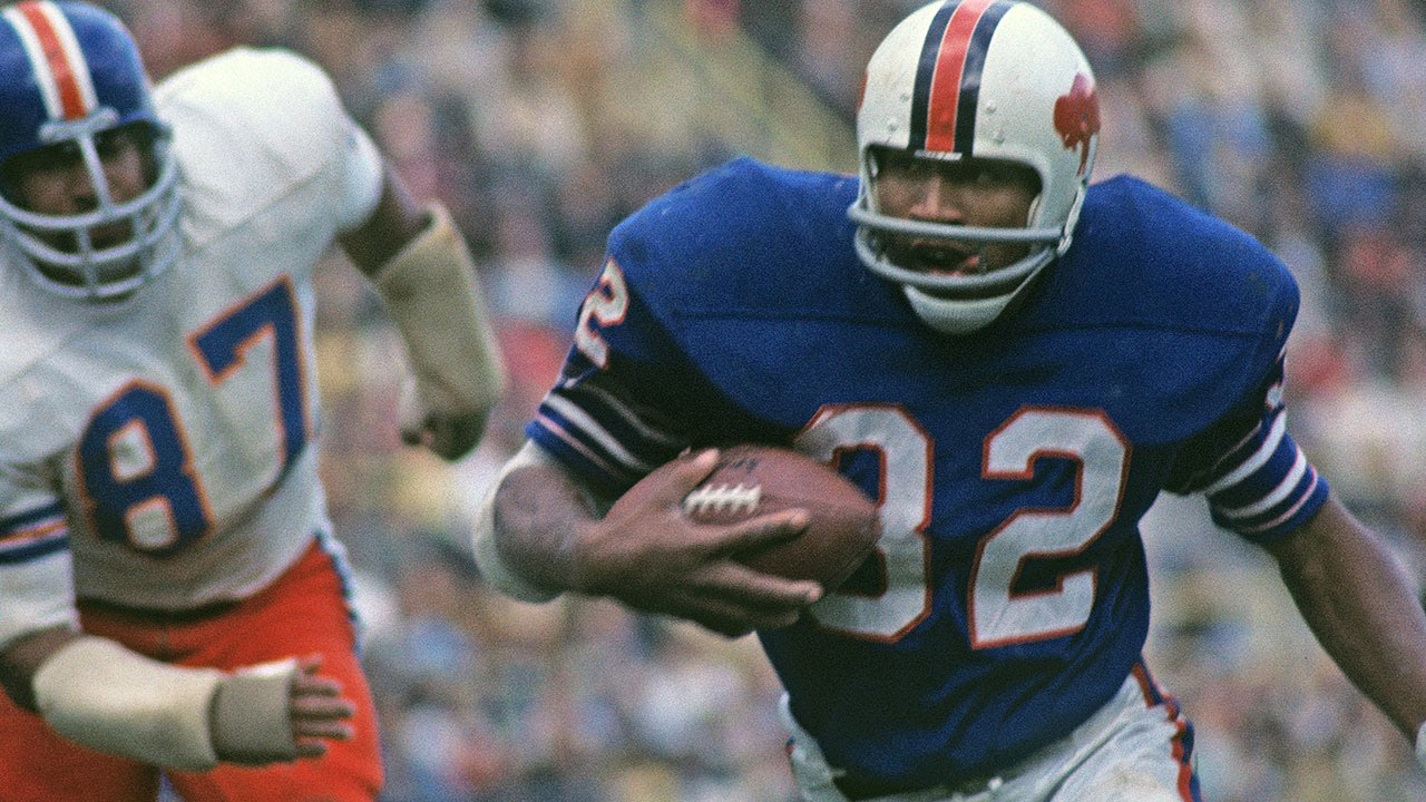 O.J. Simpson best NFL running back of all-time