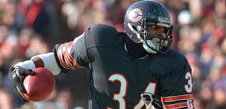 Walter Payton (1975- 1987) best NFL running back of all-time