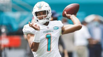 Tua Tagovailoa's Offensive Rookie of the Year Odds Improve to +1400 After Being Named Dolphins' Starter